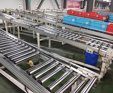 Roller Conveyor Line for Book Warehouse