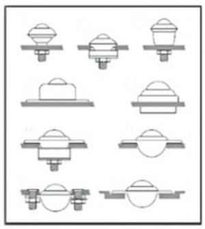 ball transfer unit installation types