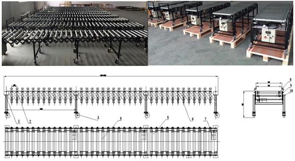flex conveyor case design