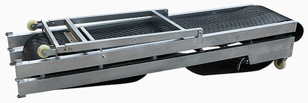 foldable loading unloading conveyor